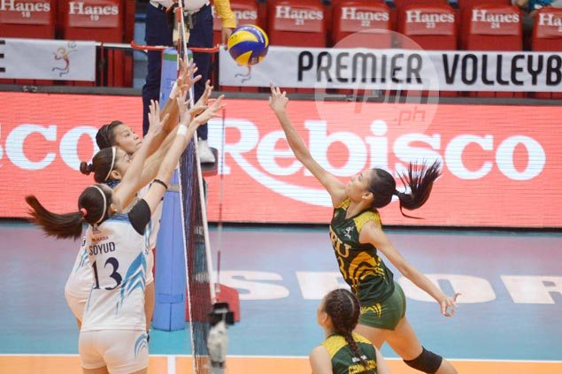 FEU Lady Tamaraws beat Adamson in four sets, seal PVL finals showdown vs NU