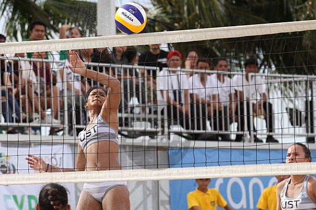 UST back in UAAP beach volleyball finals as Rondina, Viray complete elims sweep
