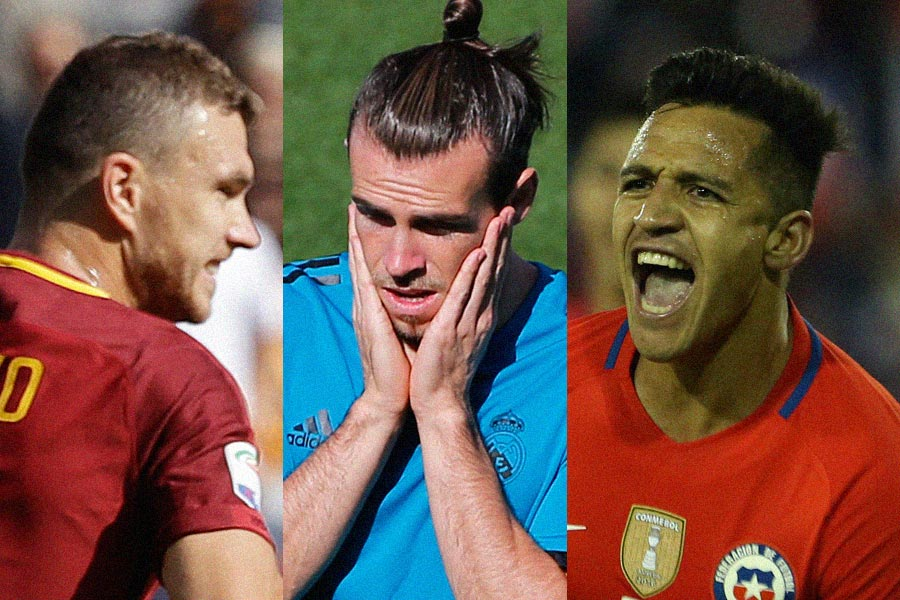 As Messi and Ronaldo get through, Bale, Dzeko and Sanchez headline stars on World Cup sidelines