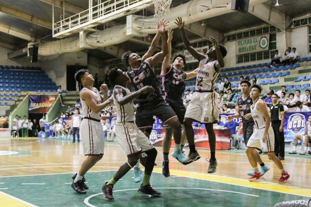 CEU Scorpions, Diliman College Blue Dragons score big wins to keep share of lead in UCBL