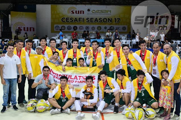 UV Baby Lancers end Magis Eagles four-year reign with finals sweep to cap perfect run to Cesafi title