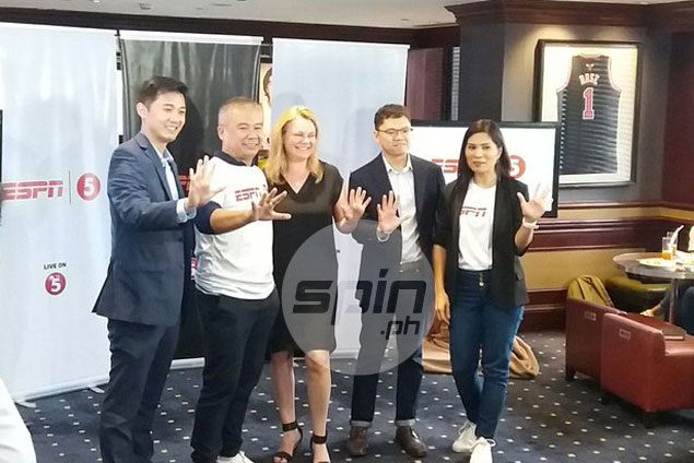 TV5 makes bold leap to dominate PH sports programming through ESPN partnership