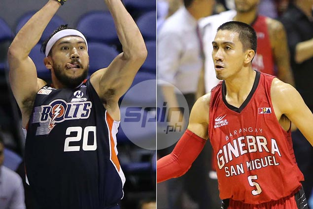 b2baeb447a6 Game One expected to set the tone as Ginebra, Meralco meet in finals grudge  match