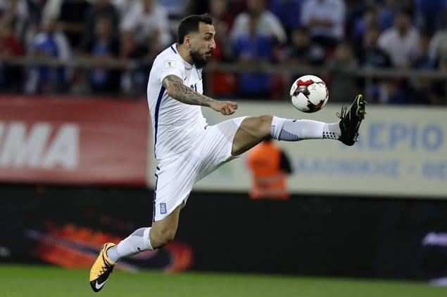 Kostas Mitroglou scores late as Marseille draws with Strasbourg in Ligue 1