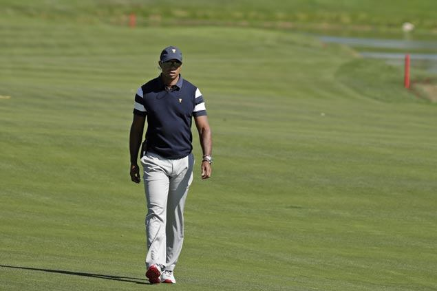 Pain-free Tiger Woods cleared to practice without limitations but competitive return still uncertain