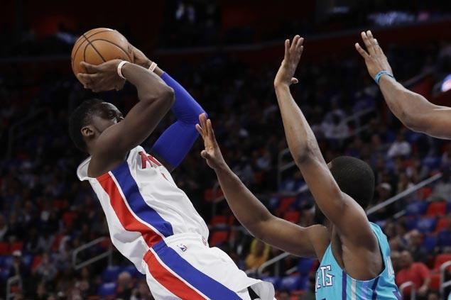 Pistons take control early and hold on for victory over Hornets