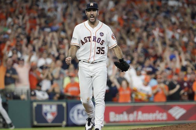 Justin Verlander unfazed in huge task of keeping Astros alive vs Yankees: 'This is why I'm here'