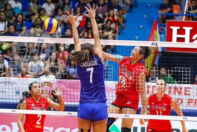 Petron sub Ria Meneses shines after holding her own against Generika import Katarina Pilepic