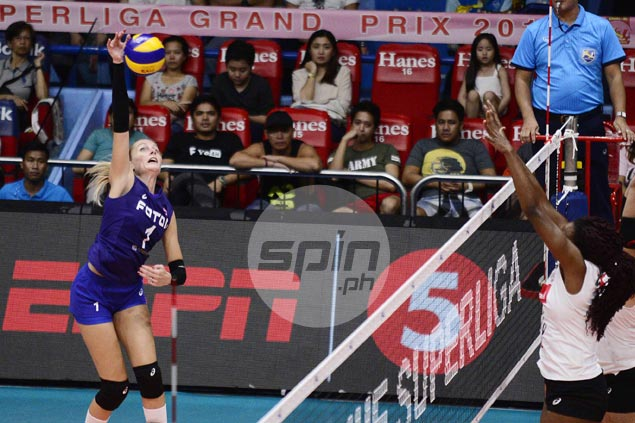Foton import Sara Klisura plays down impressive debut after showing scoring prowess vs Cignal