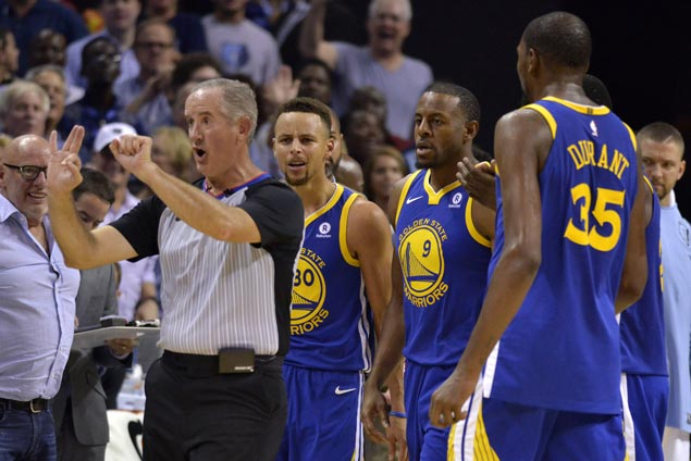Warriors lose their cool, lose match and could end up losing some money on penalties
