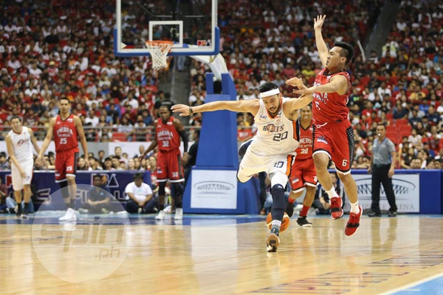Dillinger rues shooting, fightback came a little too late as Meralco falls short in finals rematch