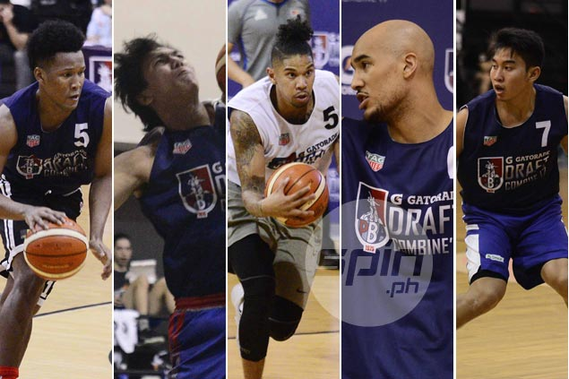 Take a look at the depth chart at each position in this batch of PBA rookie hopefuls