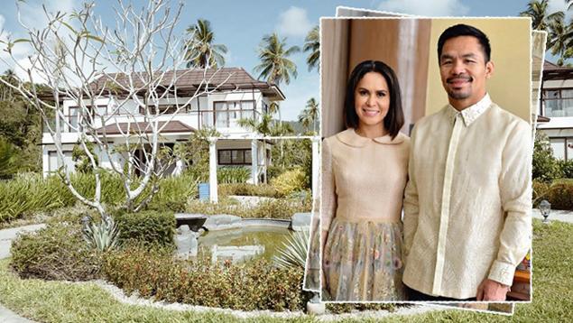 Pacquiaos enjoy piece of paradise in postcard-pretty beach house in Sarangani