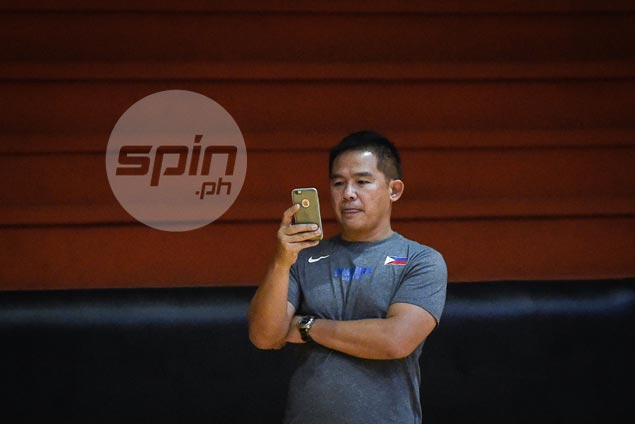 Chot Reyes 'very pleased' with local Gilas lineup, holds breath on returning Blatche