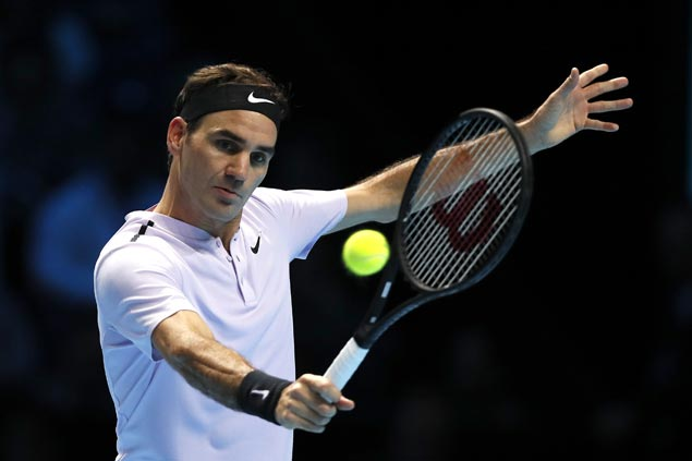 Roger Federer off to strong start in ATP Finals, downs Jack Sock in straight sets