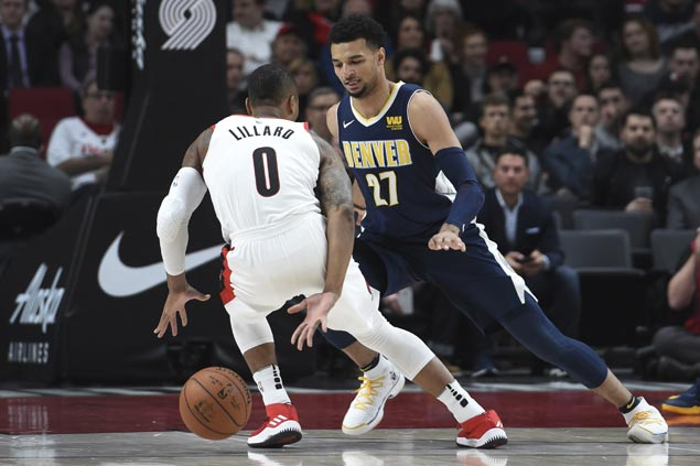Blazers snap two-game skid, stop Nuggets' win streak at three