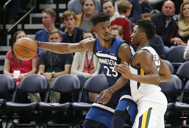 Double-doubles by KAT, Butler, Gibson power Timberwolves past Jazz