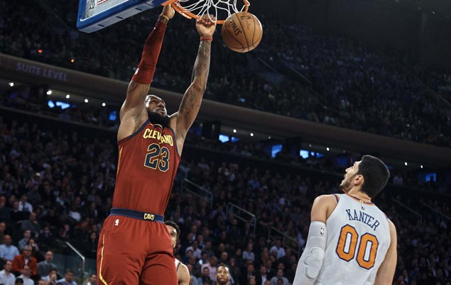 Cavaliers fight back from 23 points down to beat Knicks and finally get a win run going