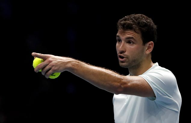 Grigor Dimitrov eases past David Goffin and into round of four at ATP Finals