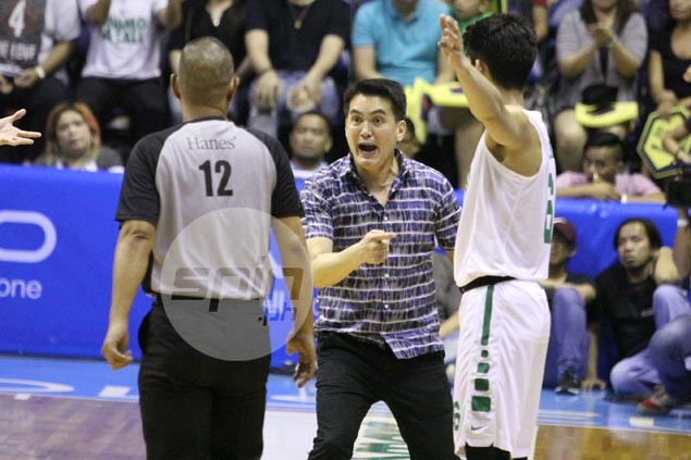 Pumaren on officiating in game vs La Salle: 'Malakas na nga sila, tapos ... di ba?