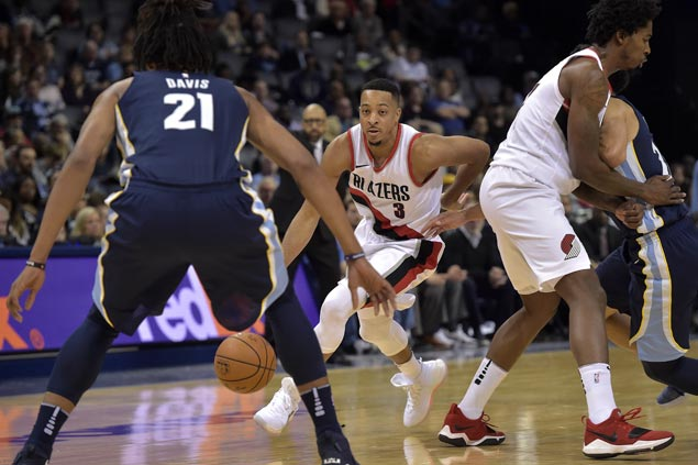 Blazers score back-to-back wins and deal Grizzlies fifth straight loss