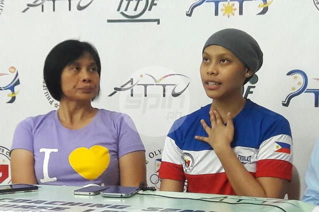 Ian Lariba a picture of calm, courage as she takes first steps on road to recovery