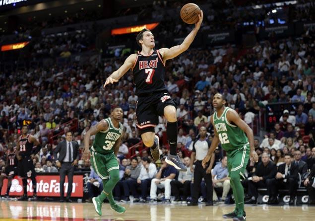 Heat top Celtics 104-98, snap Boston's 16-game win streak