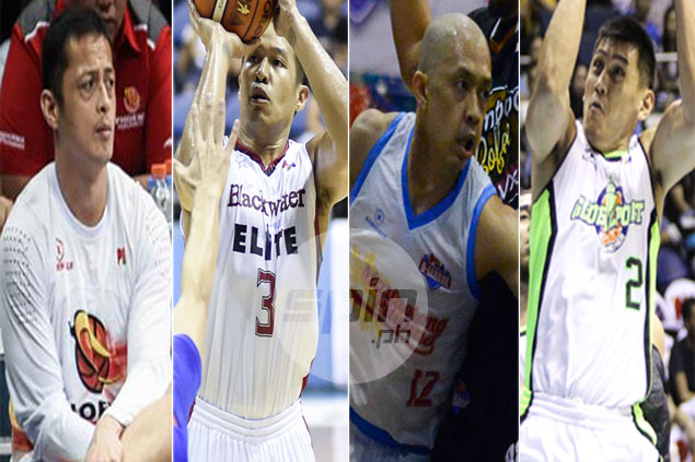 Mamaril, Isip, Miranda, Lanete battle youngsters for three open roster spots at SMB