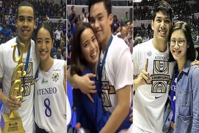 Girlfriends stand by their men at end of a fiercely fought Ateneo-La Salle finale