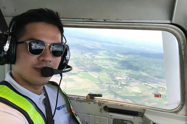 Jeric Fortuna cuts short basketball career at 26 to pursue dream of becoming a pilot