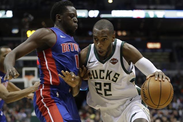 Bucks ride fourth quarter surge to send struggling Pistons to fourth straight loss