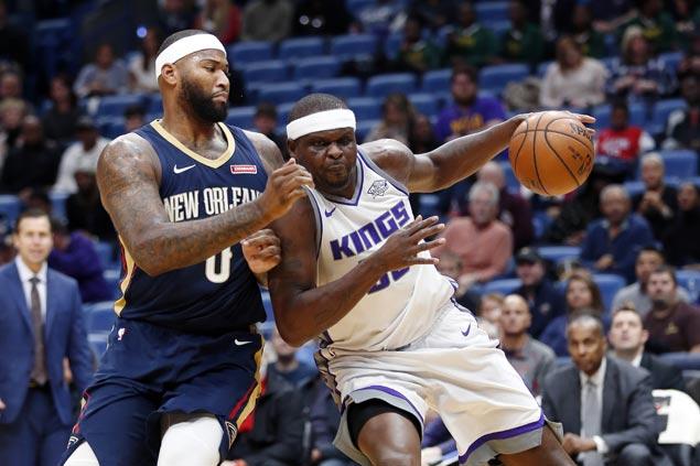Zach Randolph scores season-high 35 as Kings beat Pelicans in overtime