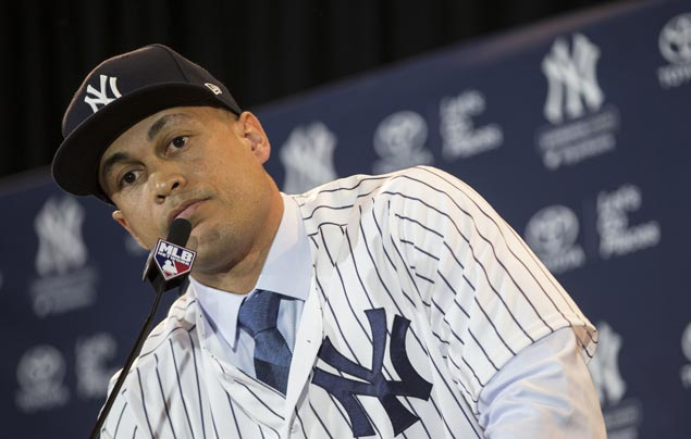 Yankees acquire National League MVP Giancarlo Stanton from Marlins