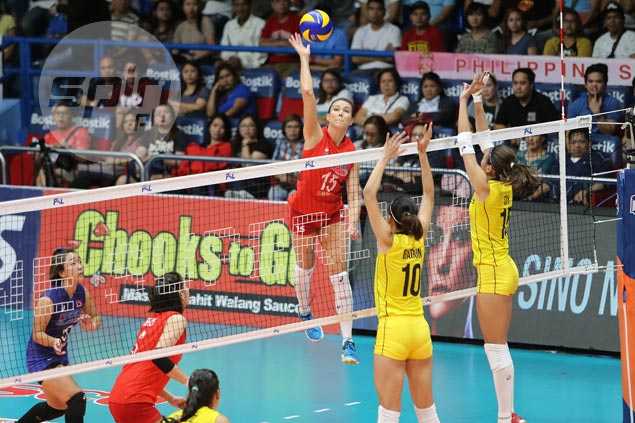 Petron makes quick work of F2 Logistics to move a win away from PSL Grand Prix title