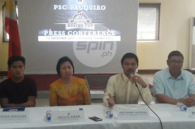 Manny Pacquiao, PSC team up to find top boxing prospects with PSC-Pacquiao Amateur Boxing Cup
