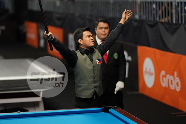 Carlo Biado becomes first Filipino in seven years to reign as world 9-ball champion