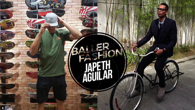 Follow Ginebra star Japeth Aguilar's fashion gameplan for the stylish tall man