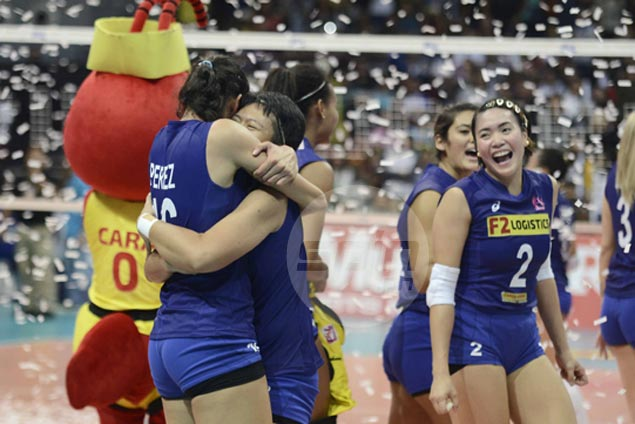 F2 Cargo Movers overcome Petron Blaze Spikers to rule Super Liga Grand Prix
