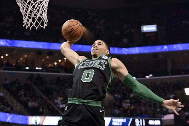 Kyrie Irving, Jayson Tatum show way as Celtics rally in fourth to beat Grizzlies