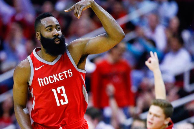 Harden hits 51, but Rockets fall to Clips