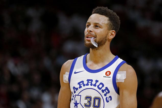 Stephen Curry to miss Christmas Day game vs. Cavaliers with ankle sprain