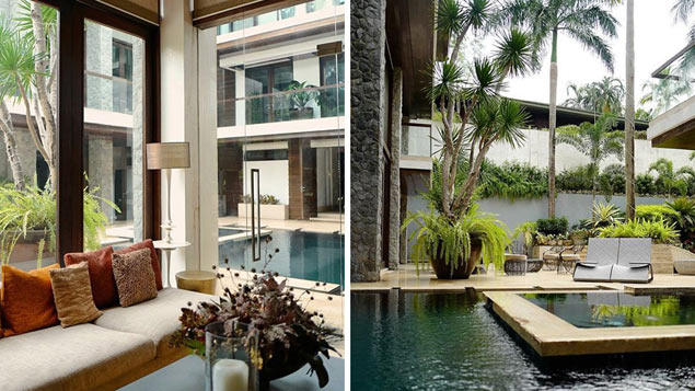 Take a peek inside the Forbes Park home of boxing legend Manny Pacquiao