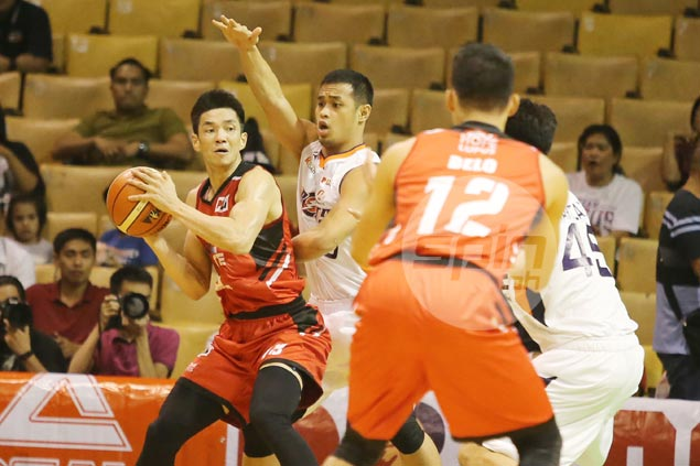 Allein Maliksi says souped-up Blackwater must now learn to play as a team