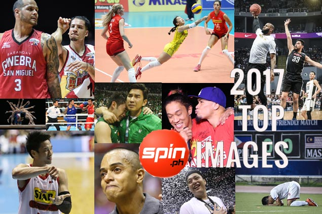 Sweet victories, bitter defeats, fond farewells captured in top&nbsp;<em>SPIN.ph</em>&nbsp;images of 2017
