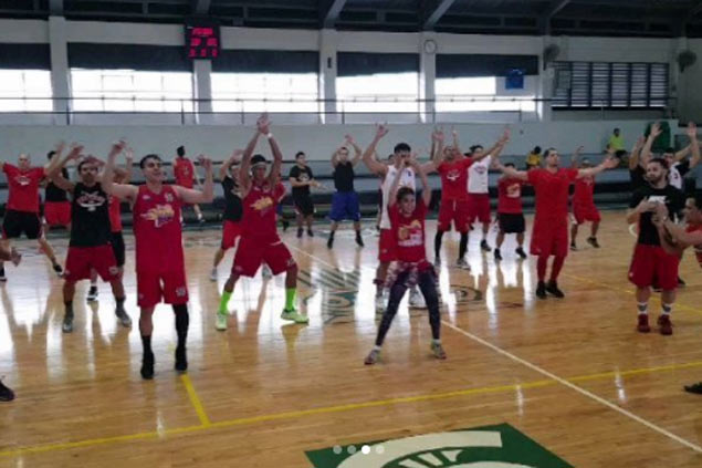 On Arwind Santos advice, SMB incorporates popular fitness program into training