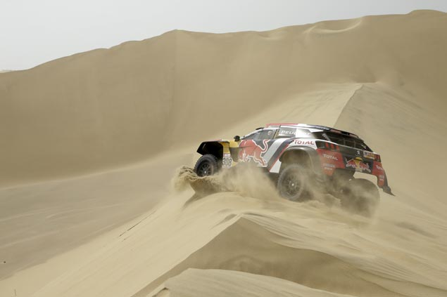 Cyril Despres tops second stage to take overall lead in Dakar rally