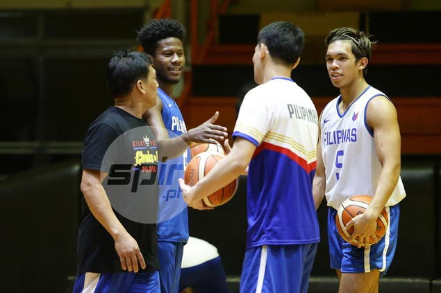 Gilas seniors, cadets resume practice for FIBA qualifiers