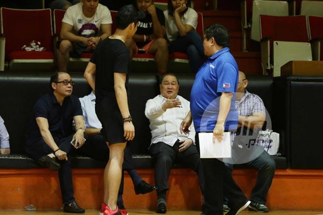 La Salle rising star Ricci Rivero makes surprise appearance at Gilas Pilipinas practice
