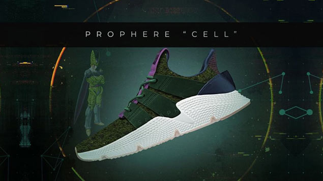 Signature shoes step out of sports realm with adidas sneakers for iconic Dragonball Z villains
