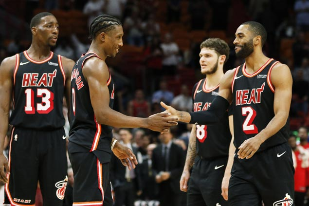 Heat halt Raptors streak